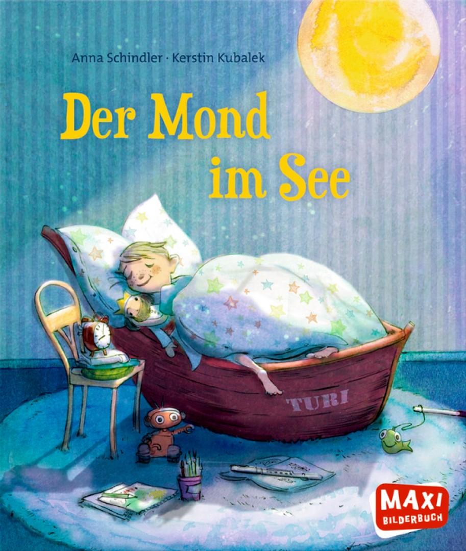 Der Mond im See}