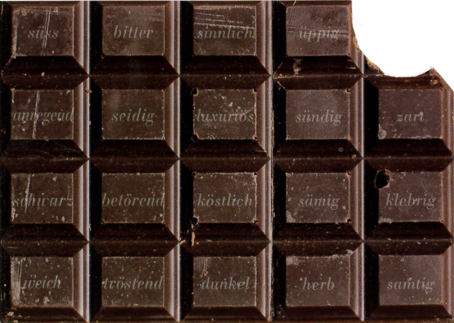 Bittersüsse Schokolade und zartschmelzende Musik}