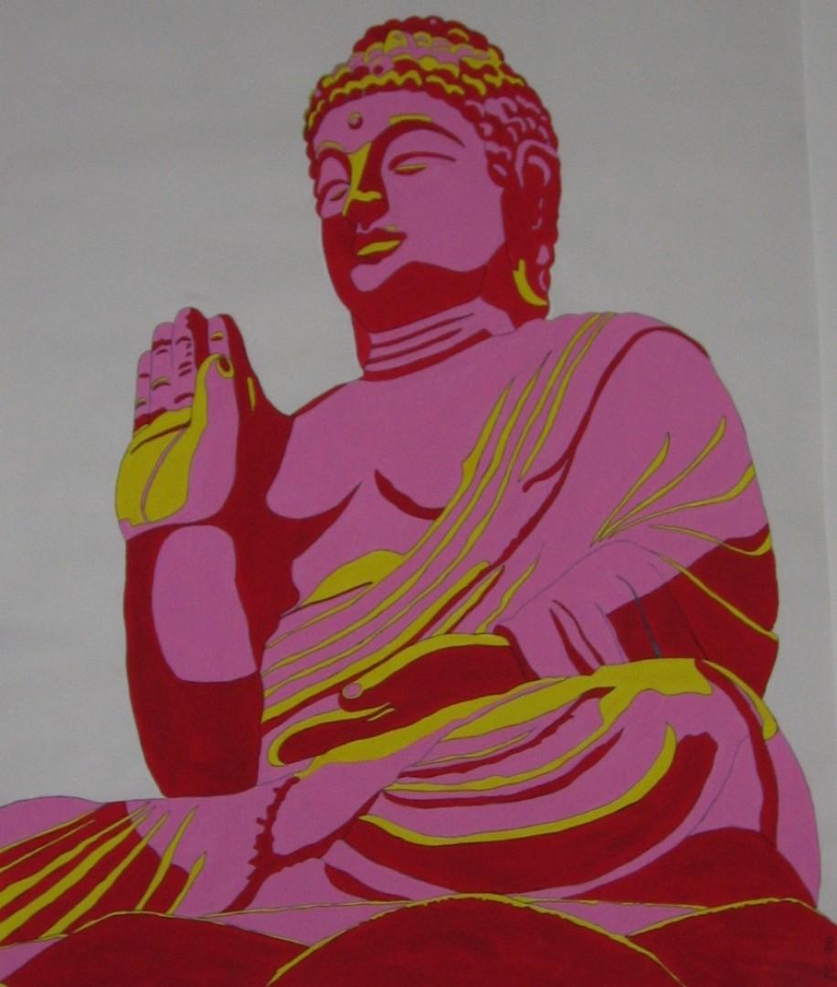 Buddha wechselt seine Seite